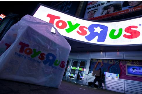 Toys 'R' Us Deploys Robots as Retailers Seek to Catch Amazon