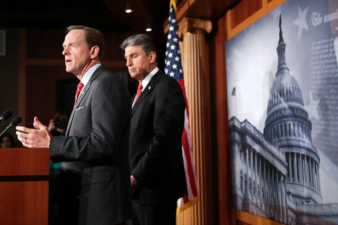U.S. Senators Pat Toomey and Joe Manchin