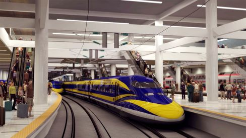Brown Boosts Bullet Train While Cutting Cash for Welfare Moms