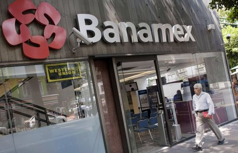 Banamex Bank Branch in Mexico City