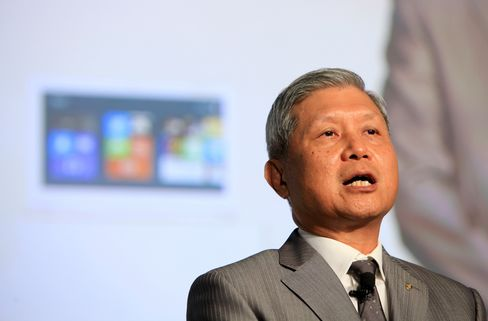 Acer Inc. Outgoing CEO J.T. Wang