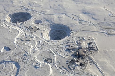 Harry Winston Pays $500 Million for BHP's Ekati Diamond Mine