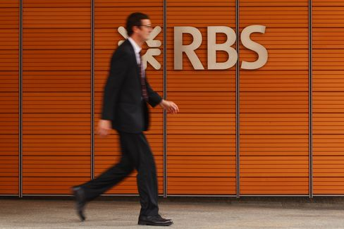 RBS Said to Dismiss 4 Bankers as Libor Probe Widens