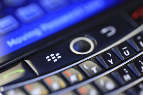 RIM Aims for January BlackBerry 10 Rollout as Investors Meet