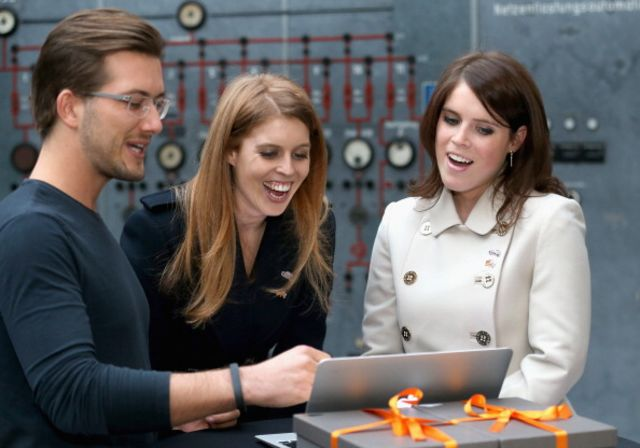 Zalando impressed Princess Beatrice and Princess Eugenie.