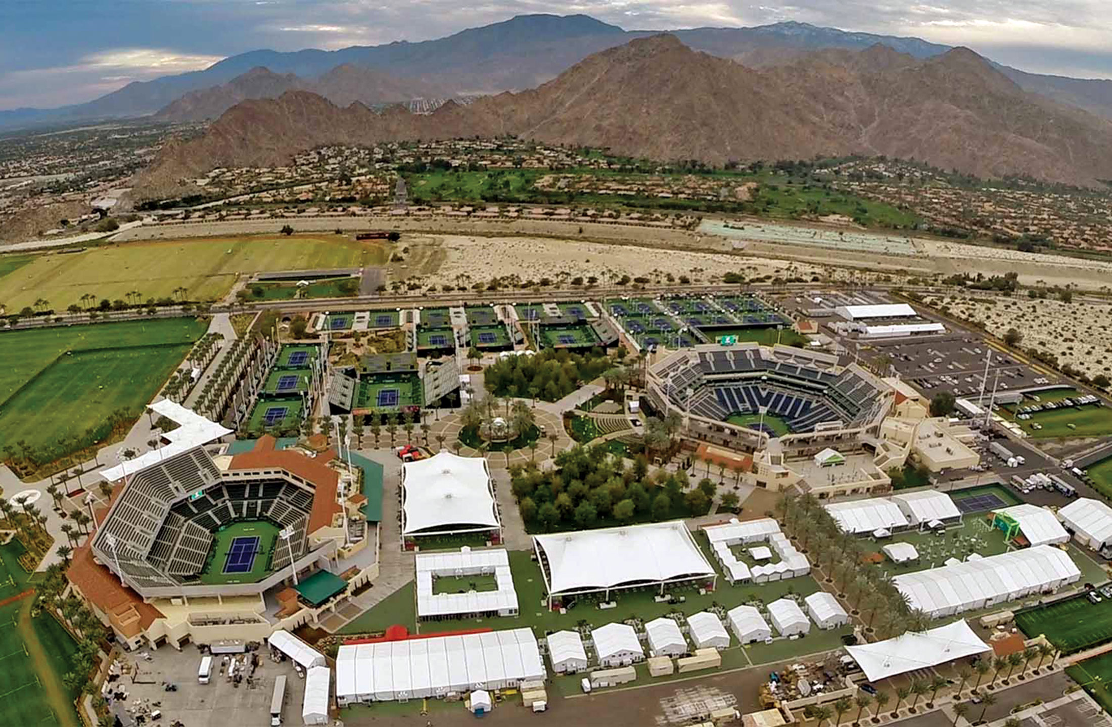 The Indian Wells Tennis Garden Hosted 456000 Fans This Year