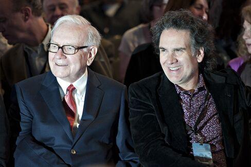 Warren and Peter Buffett in Omaha