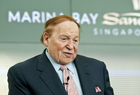 Casino Executive Sheldon Adelson