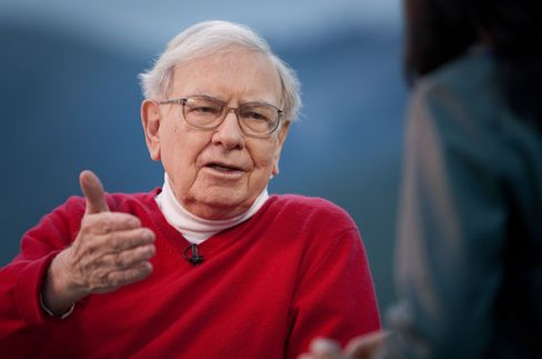 Buffett Gains as More Diversified Berkshire Hits Four-Year High