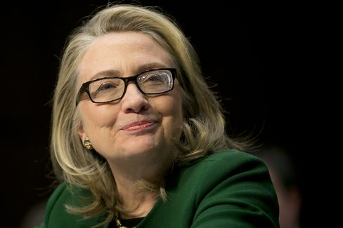Former U.S. Sec. of State Hillary Clinton