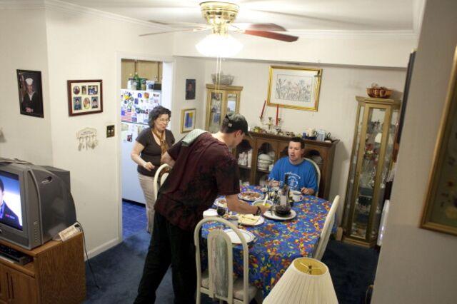 The perks of multigenerational living.