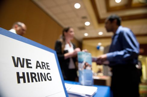 Investors Lured to Employment Services Stocks by U.S. Job Gains