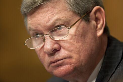 U.S. Senate Banking Committee Chairman Tim Johnson