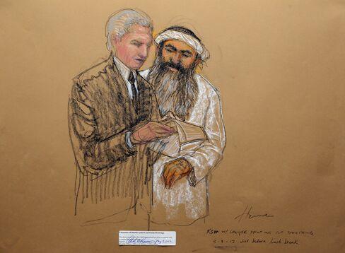 Defendant Khalid Sheik Mohammed