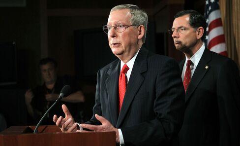 Senate Minority Leader Sen. Mitch McConnell