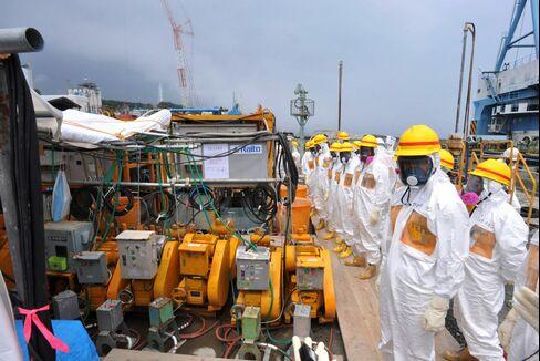 Ice Wall Idea Studied to Halt Radioactive Water in Japan