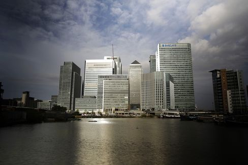 U.K. Finance Industry Is Most Upbeat Since 1996 as Hiring Surges