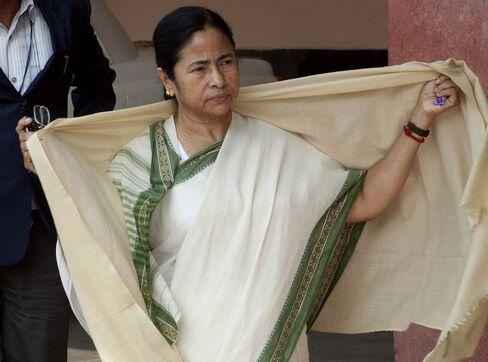 Trinamool Congress Party Leader Mamata Banerjee