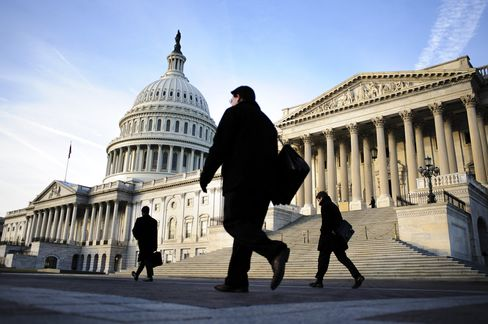 Congress Leaders to Meet Obama as U.S. Spending Cuts Begin