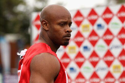 Athlete Asafa Powell