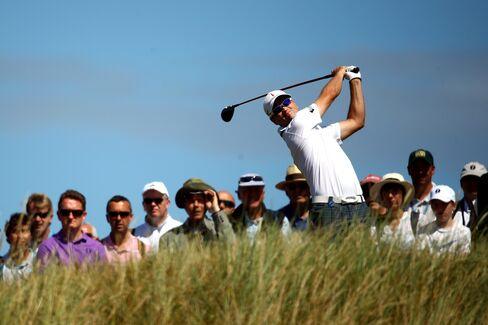 U.S. Golf Player Zach Johnson