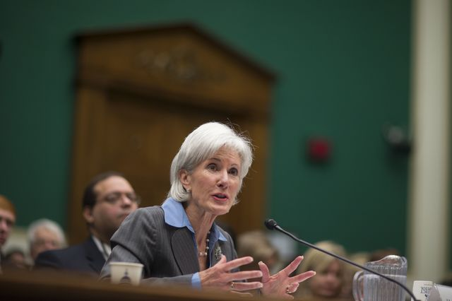 What will you think of Kathleen Sebelius in five years? Photographer: Andrew Harrer/Bloomberg