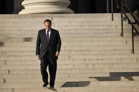 John Mack, then chief executive officer of Morgan Stanley, walks out of the U.S. Treasury building in Washington, D.C. on Oct. 13, 2008. Photographer: Ken Cedeno/Bloomberg