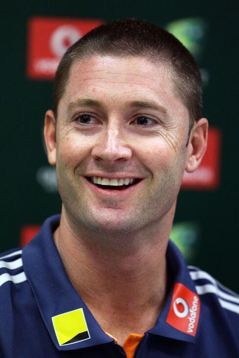 Australian Captain Michael Clark