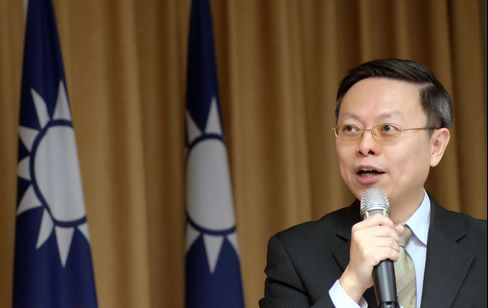 Taiwan's Mainland Affairs Minister Wang Yu-chi