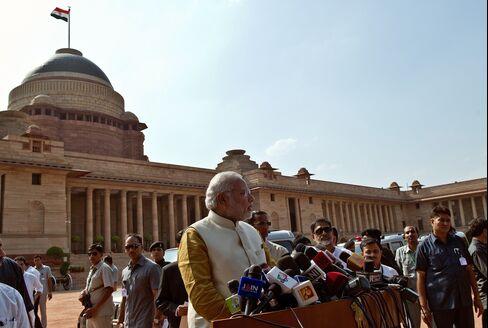 India's Designate Prime Minister Narendra Modi