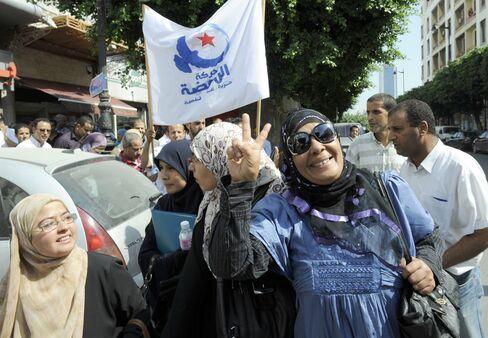 Islamists Lead Polls Before Democratic Tunisia Election