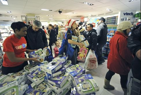 Black Friday Starts C$5 Billion Holiday Drain