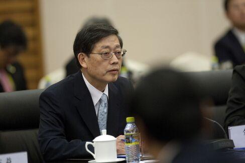 South Korea's Prime Minister Kim Hwang Sik