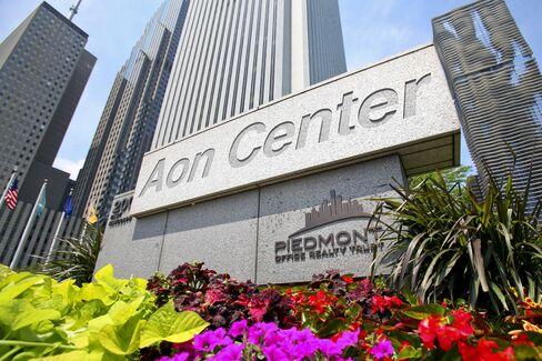 Aon Rallies as Insurance Broker's Revenue Climbs