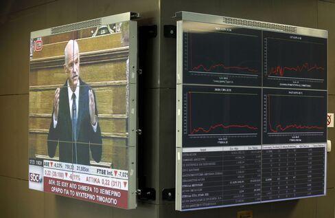 Stocks, Euro Decline, German Bunds Rally on Greek Referendum