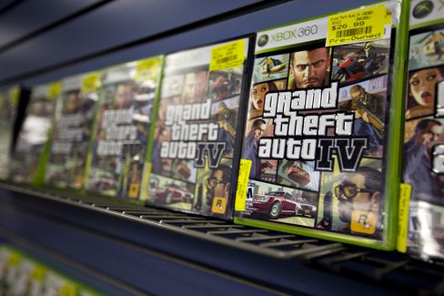 Take-Two Jumps After Spring Debut for 'Grand Theft Auto V' Game