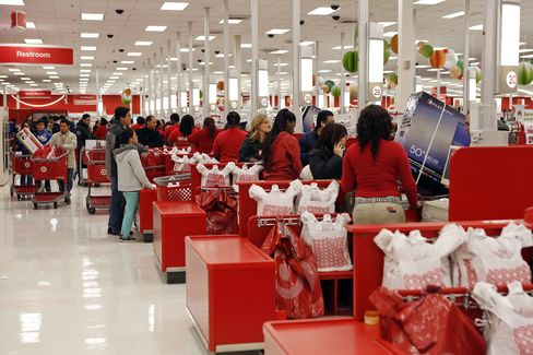 Customers Purchase Merchandise at a Target Corp. Store