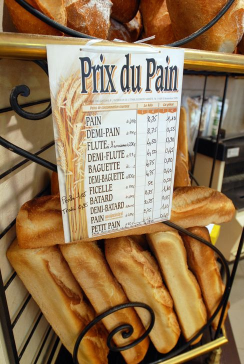 French Bread Prices
