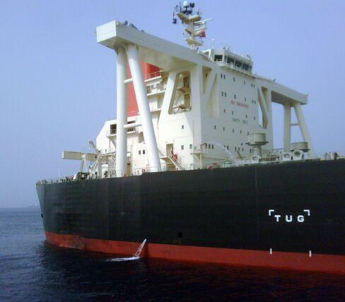 Mitsui O.S.K. Lines Ltd.'s oil tanker