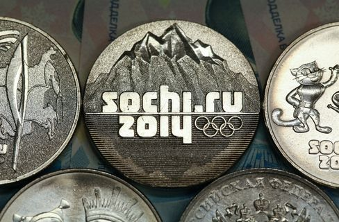 Sochi 2014 Winter Olympic Ruble Coins