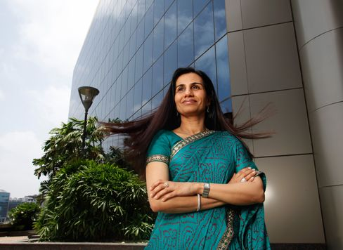 Chanda Kochhar, chief executive officer of ICICI Bank Ltd.