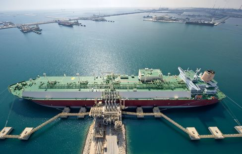 The Port of Ras Laffan, Qatar
