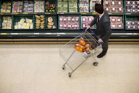 U.K. Retail Sales Rise More Than Forecast on Food, Internet