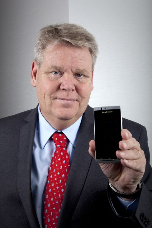 Sony Ericsson Mobile Communications CEO Bert Nordberg