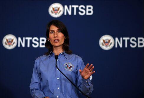 NTSB Chairman Deborah Hersman