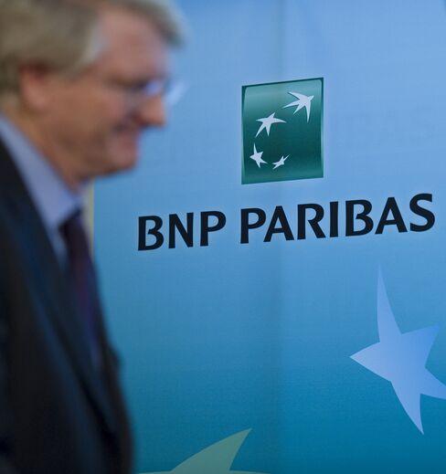 European stocks drop; BNP Paribas falls