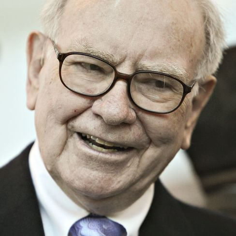Buffett Presses Charity Drive