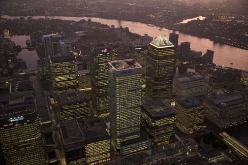 HSBC Holdings, Citigroup Offices in London