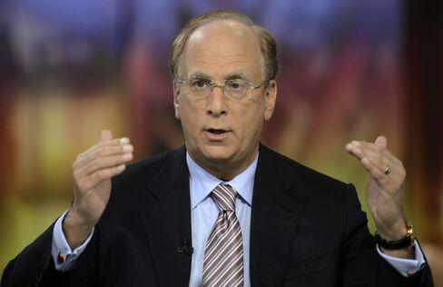 BlackRock's Fink Says He's 'Very Bullish' on U.S. Economy