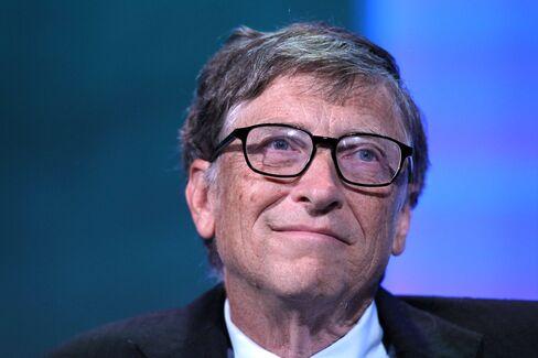 Microsoft Chairman Bill Gates